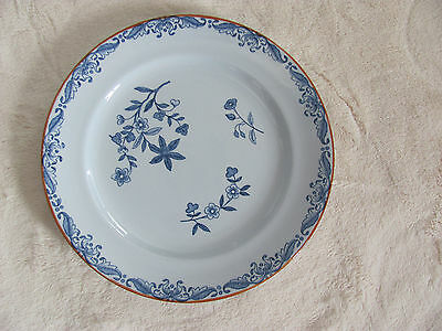 Rorstrand Ostindia Sweden- Blue Flowers - Large Bread & Butter Plate(s)- 6 Avail