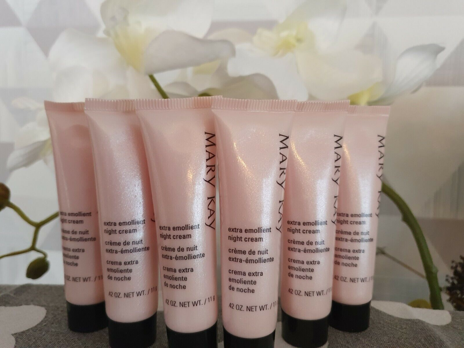 Mary Kay Extra Emollient Night Cream SOS Creme NEU,11g x 6 st.(bis 022023)