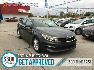 2018 Kia Optima LX+ | CAM | HEATED SEATS | ONE OWNER