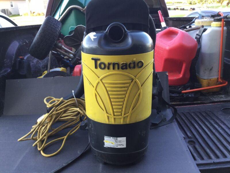 Tornado Pac-Vac 6  Backpack Vacuum (93012B)((FREE SHIPPING))