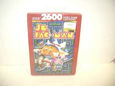 JR PAC MAN Atari 2600 New & Factory Sealed Vintage Video Game Free Shipping