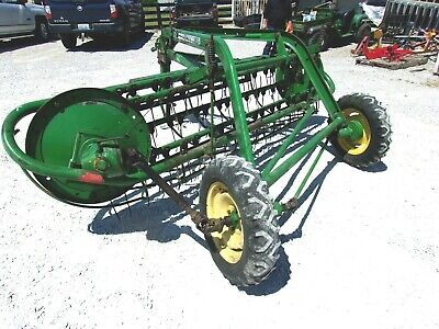John Deere 662 Hay Rake Good Straight Rake Free 1000 Mile Delivery From Ky