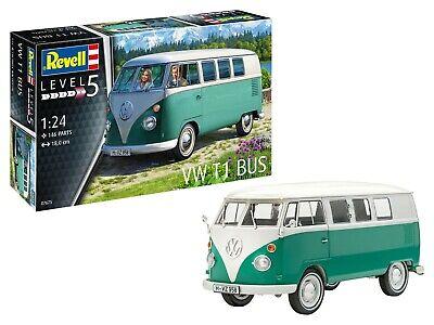 Revell Volkwagen VW T1 Bus in 1:24 Revell 07675 Bausatz