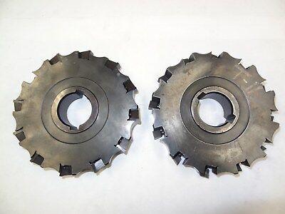 2 Valenite Indexable Slotting Mill Cutter Vmm-50-4-0612ra Vmm-50-4-0612la 143
