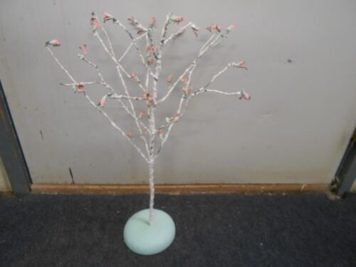 vintage chippy paint with pink roses Philippines Easter Spring tree