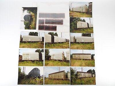 """12 Fotos 10x15 mit Negativen - Eichfahrzeuge der DR - Gransee 1992 """"Ycc14"""