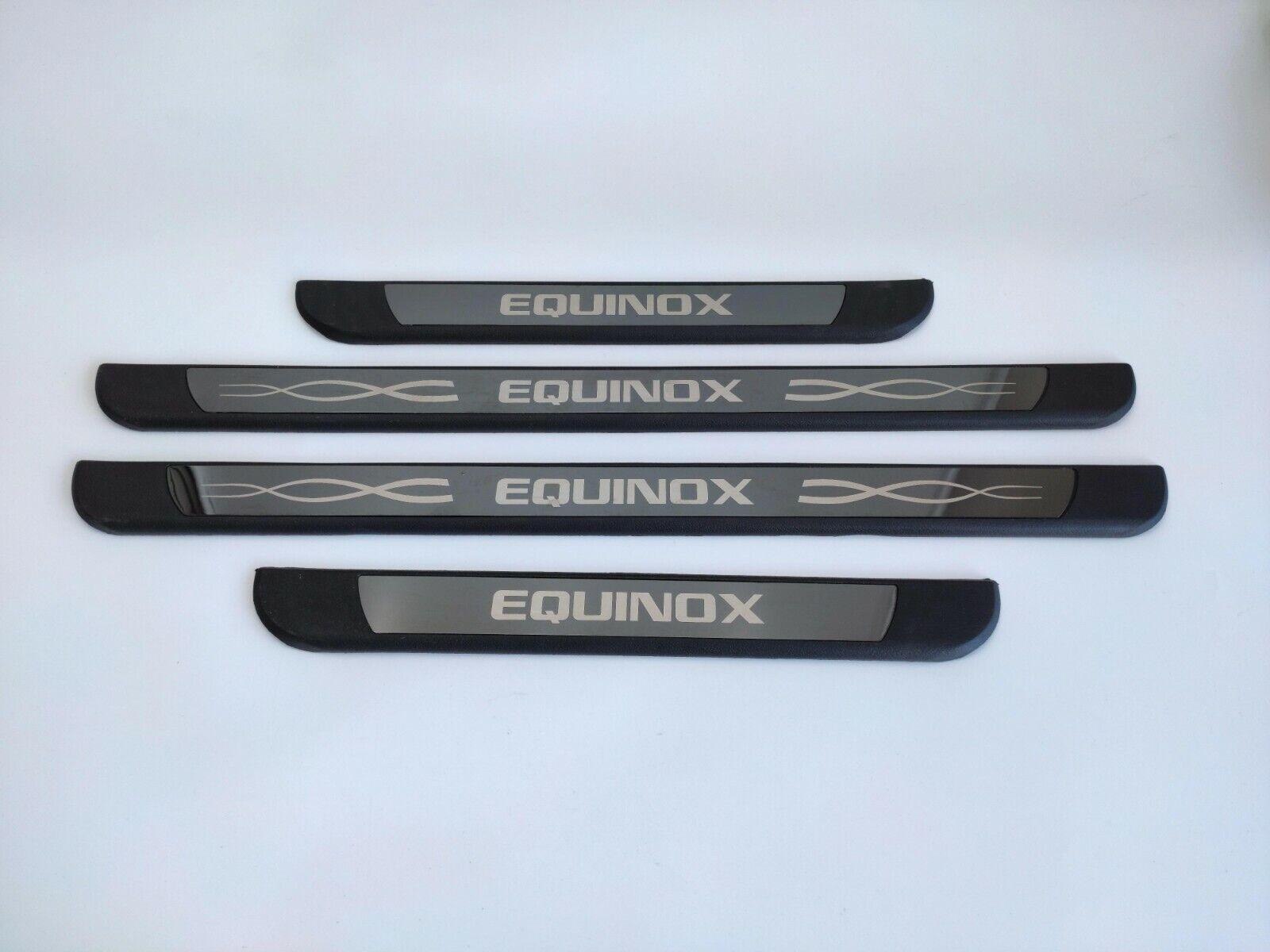 Car Parts - Parts For Chevrolet Equinox 2020 Accessories Car Door Sill Protector Scuff Plate