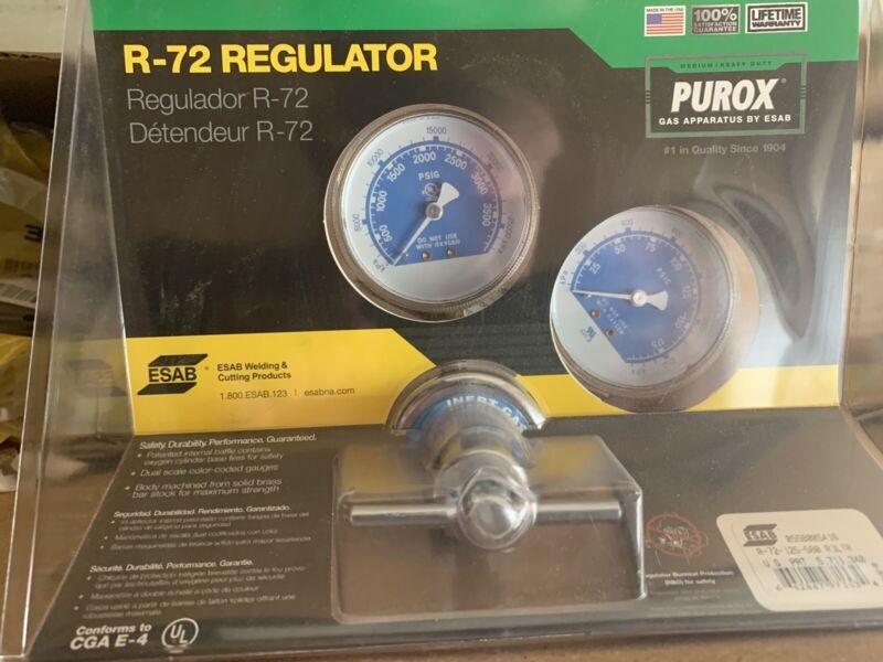 NEW PUROX R-72-125-580 ESAB INERT GAS REGULATOR