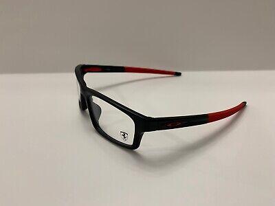 OAKLEY CROSSLINK Rx Glasses OX8037-1554 Satin Black (Ferrari SAMPLE) 54-18-135 N