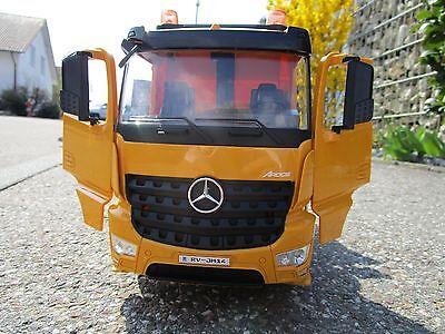 Tieflader Mercedes Arocs LKW Baufahrzeug RC Fernsteuerung 1:20 2,4G  °405107 (Rc Tieflader)