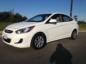 2014 Hyundai Accent GL auto balance of warranty and certified