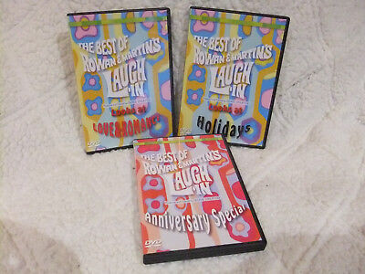 The Best of Rowan & Martin's Laugh-In - 3 DVDs Holidays + Anniversary +
