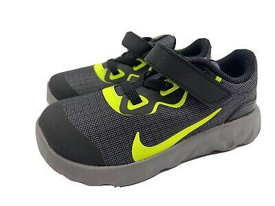 Nike 8C Toddler Boys Explore Strada Black Sneakers Tennis Shoes New in Box!