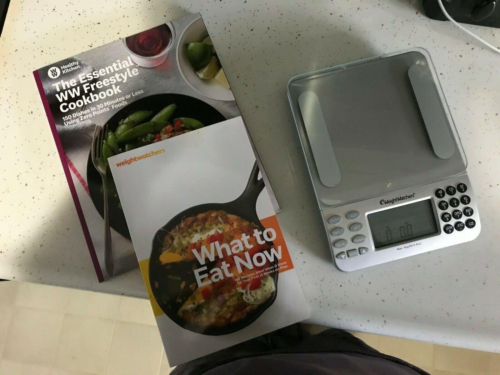 Kitchen Food Scale & Cookbooks