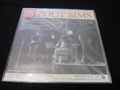 Zoot Sims   12  Picture Disc   Unplayed   As New   Mmex 116 Lp   Japan   Rare
