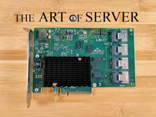 Genuine LSI 9201-16i 6Gbps 16-lane SAS HBA P20 IT Mode ZFS FreeNAS unRAID