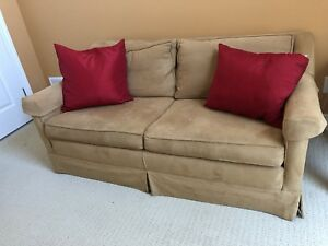 Down filled love seat !