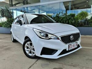 2020 MG MG3 MG3 White 4 Speed Automatic Hatchback Beaudesert Ipswich South Preview