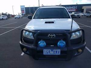 Roadworthy 2009 Toyota Hilux 4x4 Auto Winchelsea South Surf Coast Preview