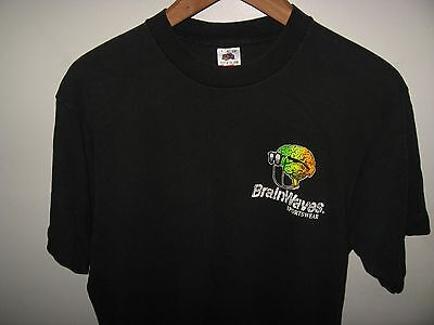 Brainwaves T-Shirt - Vintage 604ms Mardi Gras New Orleans Sportkleidung Groß