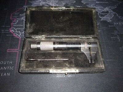 Starrett No. 700 Inside Micrometer - Range 0-1 Mechanical