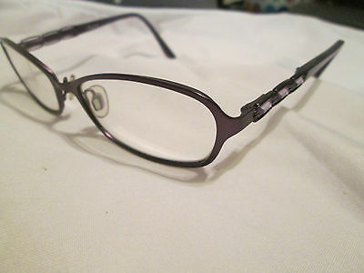 Oskar Levinski Aurora purple glasses frames. With Aurora case. - Aurora Frames