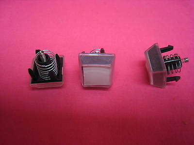 Parting Tec Ma-600 Cash Register 3 Small Key Pads With Springs And Covers Tc20
