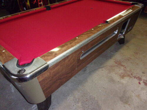 Valley 7 ft. coin op pool table  #PT282