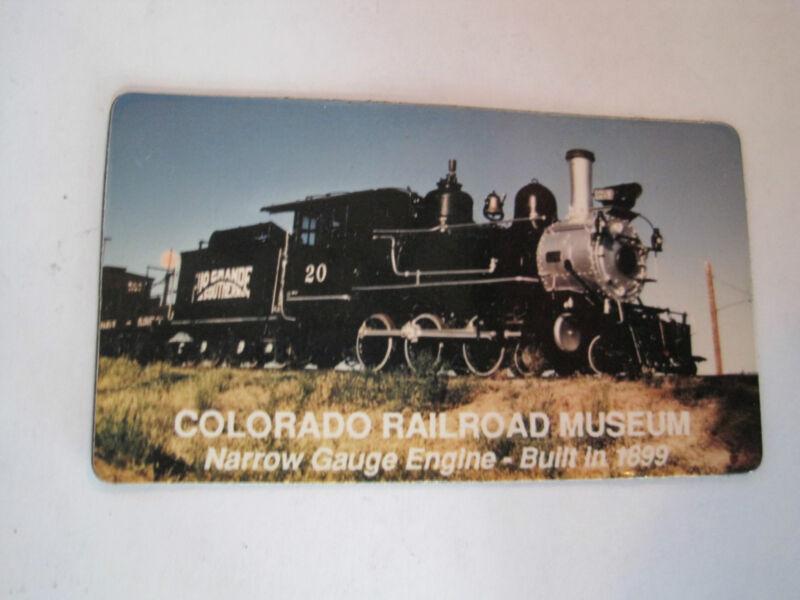 Railroad Magnet Colorado Railroad Museum  Train