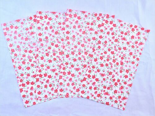 50 Pink Flowers Designer 6x9 Mailers Poly Shipping Envelope Boutique Bags