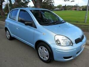 2003 TOYOTA ECHO 5 DOOR HATCH, IMMACULATE CONDITION Croydon Burwood Area Preview