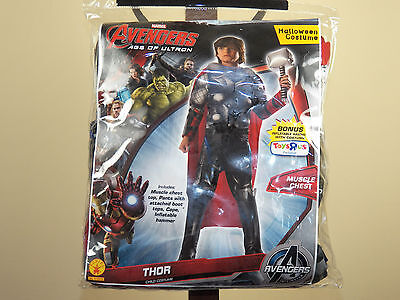 Marvel Avengers Thor Halloween Costume Age Of Ultron Size M-8-10, L-12-14 *NEW* - Halloween Costumes Age 12