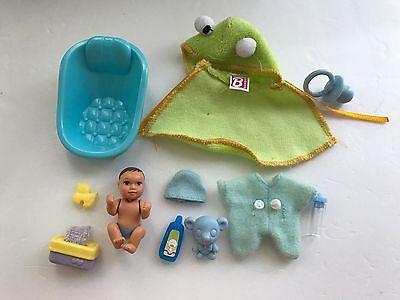 Mattel Happy Family Barbie baby  & Accesories