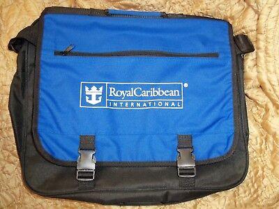Royal Caribbean International Rccl Cruise Ship Messenger Laptop Shoulder Bag New