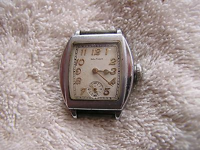 Vintage Waltham Watch 7 Jewels Art Deco