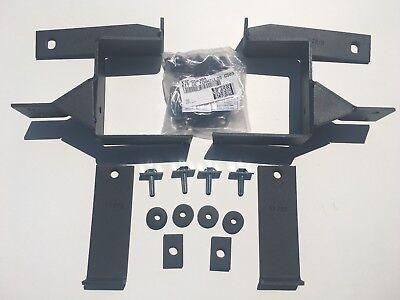 Go Rhino Push Bumper BRACKET KIT ONLY for 2003-2011 Ford Crown Victoria: 5038TK - Go Rhino Brackets