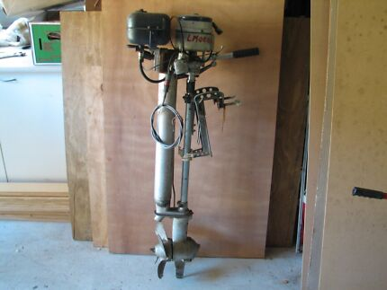 British Silver Seagull - 5 HP Outboard Motor. Woodrising Lake Macquarie Area Preview
