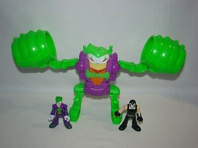 Imaginext DC Super Friends Joker Robot with Joker & Bane figures, 2012 Mattel