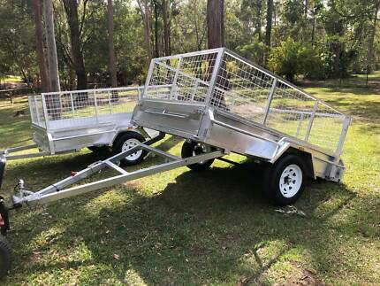 New Gal dipped 8 x 5 Trailer @ Seatons Pimpama Gold Coast North Preview