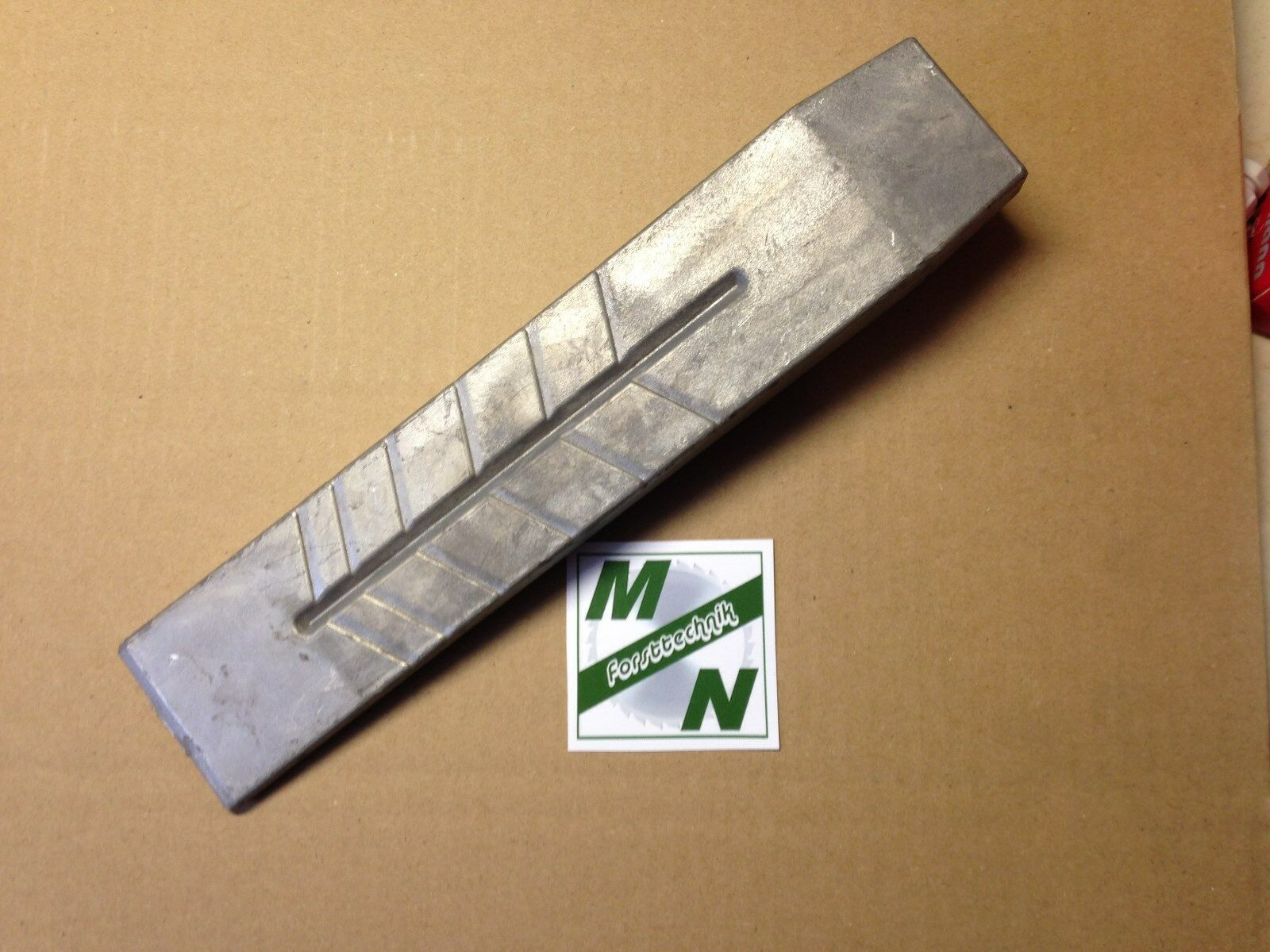 Alukeil Fällkeil Spaltkeil 800g Aluminium Keil 800g 260x55