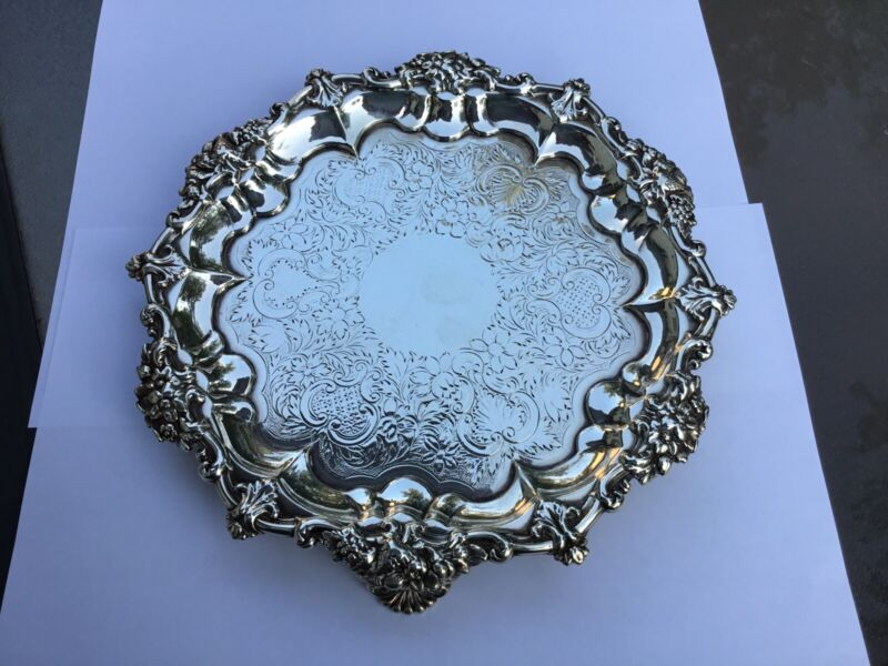 1830 London Sterling Silver Salver
