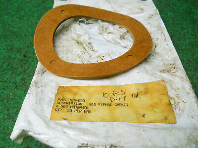 Ditch Witch 165-653 Flange Gasket Lot Of 10 Some Different Thickness