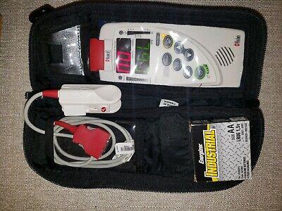 Masimo Rad 57 Handheld Pulse Oximeter With Finger Sensor.