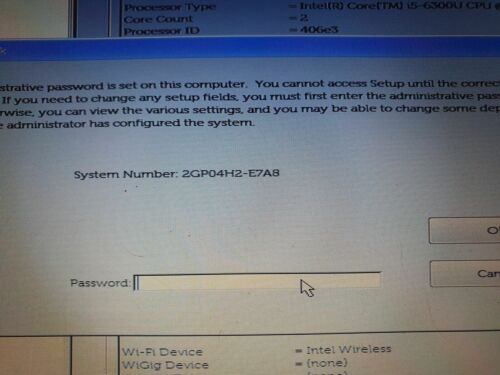 Unlock bios password Dell INSPIRON 5459,Latitude E7470,Dell Latitude 5591,E7A8
