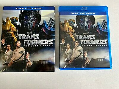 Transformers The Last Knight (Blu-ray Disc, 2017) Mark Wahlberg *No digital code