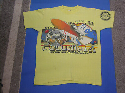 1982 STS-3 NASA Columbia Space Shuttle Original Kennedy Space Center (?) T-Shirt