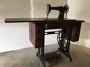 Singer Treadle Sewing Machine Erina Gosford Area Preview