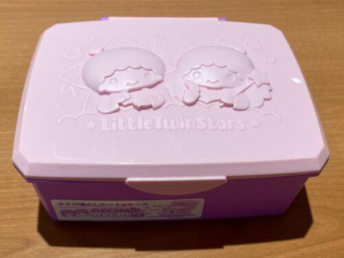 Little Twin Stars Make-up Removing Wipes Wet Tissue Box  Holder Japan Kawaii