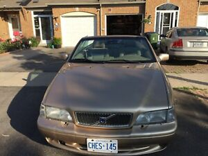 99 Volvo C70 convertible in immaculate condition