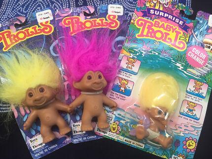Vintage trolls